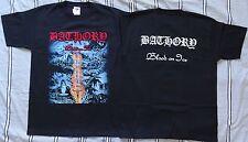 BATHORY ,,BLOOD ON ICE,, OFFICIAL T-SHIRT LEGEND OF BLACK METAL Quorthon Seth