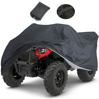 XL 190T Waterproof ATV Cover Universal For Polaris Honda Yamaha Can-Am Suzuki
