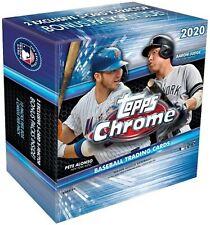 SEALED 2020 Topps Chrome MLB Baseball Card Mega Box