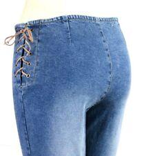 QPD Light To Medium Blue Wash Cotton Blend Boot Cut Jeans Womens Size 12 Large