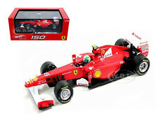 FERRARI F2011 150 ITALIA #6 FELIPE MASSA 2011 1/43 MODEL CAR BY  HOTWHEELS W1076