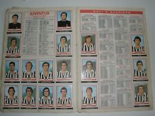 MANCOLISTE FIGURINE PANINI -CALCIATORI 1973-74- REC.- REMOVED FROM AN ALBUM