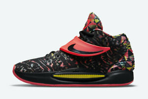 Nike Kevin Durant KD 14 KY-D Dream Black Crimson CW3935-002 sz 9 Men Basketball
