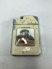 Vintage MARATHON Slide-a-Lite Cigarette Case Lighter with Make-Up Compartment