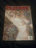 Playboy Magazine January 1999 Collectors Edition 45th Anniversary Issue