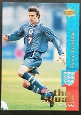 David Beckham Rookie RC True England 1997 Upper Deck