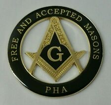 Freemason Masonic Prince Hall Affiliated Masonic Car Emblem