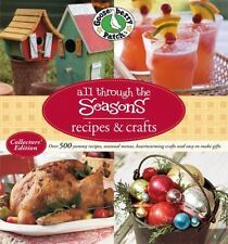 Gooseberry Patch All Through The Seasons Recipes & Crafts-ExLibrary