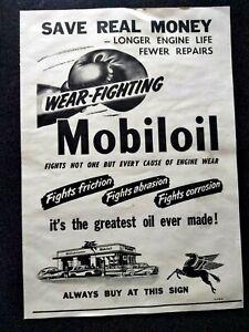 VINTAGE MOBIL OIL ADVERTISING NEWSPAPER MAGAZINE EPHEMERA AUSTRALIA