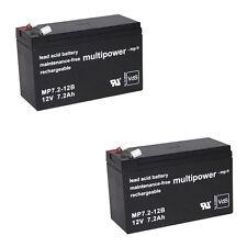 2x Akku für Hebelifter Heymer Hewo 130 160 AGM Bleigel Batterie Accu 12V 24V
