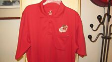 USC TROJANS ALOHA WEEKENDER POLO SHIRT NCAA #1 THROWBACK JERSEY RED VTG Mens XL