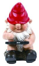 BRAND NEW GNAUGHTY GNOME LEAFPAD GARDEN ORNAMENT