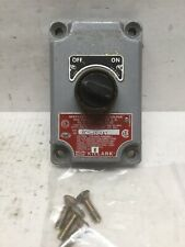 Hubbell Killark XCS-0S2A1 XCS Series Control Station ON / OFF