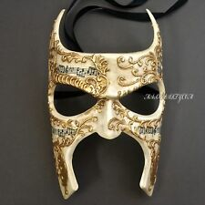 New Venetian Styled Masquerade Music Note Renaissance Faire Custom Eye Mask