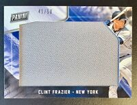 2018 Panini Black Friday CLINT FRAZIER Jumbo Jersey Patch Relic SP /50 Yankees