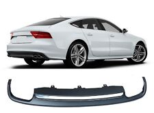 Per AUDI a7 s7 4g rs7 diffusore Look S-LINE BUMPER diffusa EXHAUST Tip Tail = 10