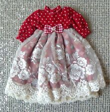 Red Party Dress for Blythe Doll / 1/6 BJD