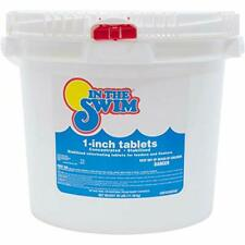 Pool Chlorine Tablets 1 Inch In The Swim 1� In 1inch Chlorine Tabs 25 Pounds