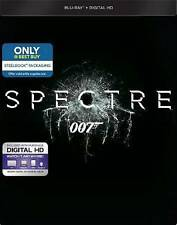 Spectre 007 James Bond Steelbook Exclusive Blu-Ray and Digital HD new unopened