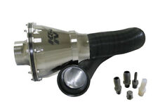 K&N Universal Apollo Silver Cold Air Intake - 70mm OD FLG PP #RC-5052AS