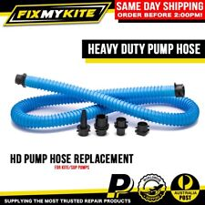 HEAVY DUTY HAND PUMP HOSE REPLACEMENT + UNIVERSAL KITEBOARD ADAPTERS MOST BRANDS