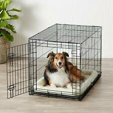 Pet Dog Cat Crate Kennel Cage Large Animal Cozy No Bed Pad House Kit Playpen