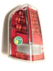 ✅ 2011-2014 Chrysler 300 DRIVER Taillight Tail Light Lamp CHROME LIGHT 11-14