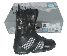 NEW $330 Burton Supreme Snowboard Boots! US 4 UK 2.5 Euro 34  *RARE COACH PRINT*