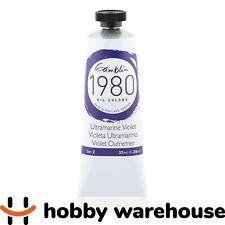 Gamblin 1980 Oil Ultramarine Violet 37ml Tube