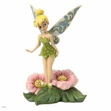 Disney Traditions Flower Fairy Tinker Bell on Flower Figurine 18.5cm 4037505