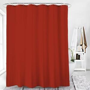 Duschvorhang Textil Badewannenvorhang Anti Schimmel 120x200cm inkl Ringe