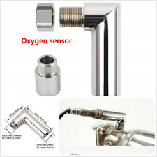 2PCS O2 Oxygen Sensor Angled Extender 90 Degree  M18 X 1.5 Bung Extension Spacer