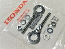 HONDA CT70 CT70H TRAIL 70 OEM CHAIN ADJUSTERS + HIGH QUALITY NUTS  - WASHERS