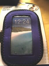 Runner Sports iPhone Navy Armband for iPhone5/5S/SE Case Cover Hook/loop band