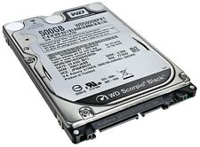 "WD 500 GB SATA 7200 RPM BLACK Western Digital 2.5"" Notebook Laptop Hard Drive"