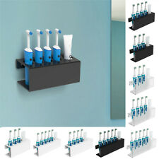 Wall-Mounted Electric Toothbrush & Toothpaste Holder Rack Home Storage Shelf