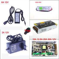 Alimentatore Trasformatore 12V 6/10/20/30A Power Supply Adaptor For Striscia Led
