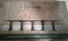 Woolzieg Gift Set of 6 Popular Essential Oils, Lavender, Sweet Orange, Lemon, ..