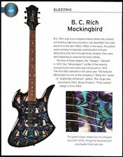 2004 B.C. Rich Mockingbird + Regal Square-Neck Resonator guitar 6 x 8 article