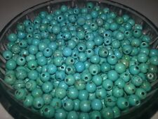 Wholesale 6MM Synthetic Turquoise Round Beads Spacer Loose Beads 100PCS. New