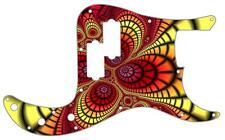 P Bass Precision Pickguard Custom Fender 13 Hole Guitar Pick Guard Fractal 1