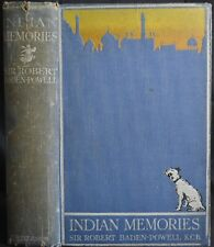 INDIAN MEMORIES Baden-Powell SOLDIERING & SPORT 1915 Raj India Big Game Hunting