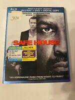Safe House w/ Slipcover (Bluray/DVD, 2012) [BUY 2 GET 1]