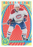 2013-14 O-Pee-Chee Hockey Retro #520 Brendan Gallagher Montreal Canadiens