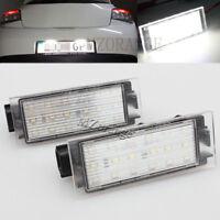 LED Number License Plate Light For Renault Twingo Master Clio Megane Lagane MK3