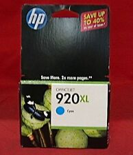 CD972AN 920XL HP High Yield Cyan Ink OFFICEJET 6000 6500 6500A 7000 7500 7500A $