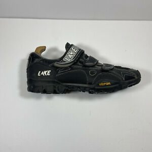 Lake Cycling MX190 Vibram spinning shoes quick release Shimano clips SZ 9.5-43