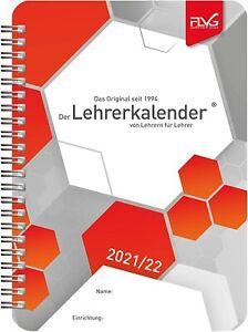FLVG ✮ Lehrerkalender DIN A5 ✮ 2021/2022, NEU !!!