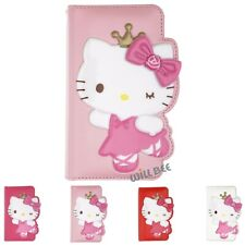 HELLO KITTY Dance Diary Wallet Flip Cover Galaxy S20 S10 S9 Note20 Note10 Case
