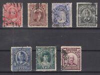 BD5725/ CANADA – NEWFOUNDLAND – 1911 USED SEMI MODERN LOT – CV 305 $